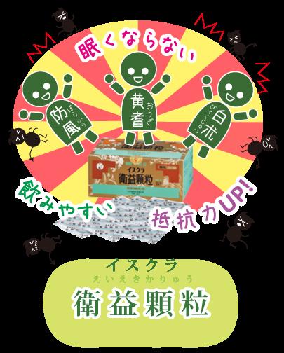 衛気を高める衛益顆粒えいえきかりゅう☆川越市鶴ヶ島市の漢方薬局坂重薬局