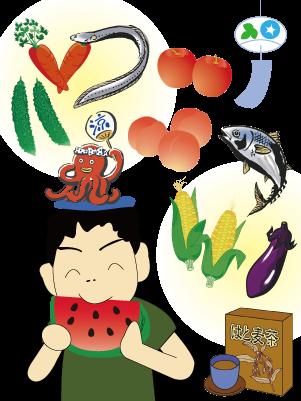 夏の食養生、埼玉県鶴ヶ島市の漢方相談薬局★坂重薬局