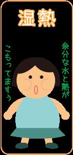 湿熱タイプ☆川越市鶴ヶ島市の漢方薬局坂重薬局